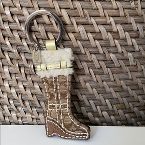 Coach Boot Keychain